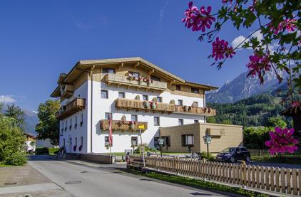 Der Dolomitenhof im Sommer