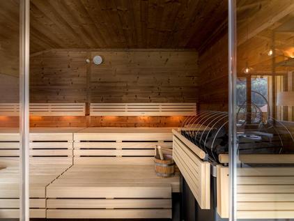 Finnische Sauna - Der Dolomitenhof Tristach