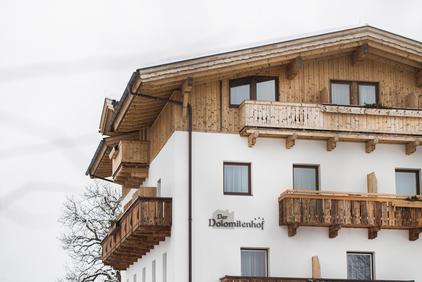 Der Dolomitenhof im Winter