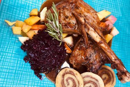 Essen im Dolomitenhof