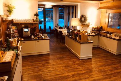 Frühstückbuffet im Dolomitenhof Tristach