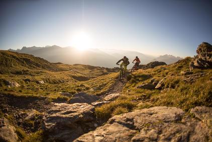 Mountainbiken in Osttirol | © TVB Osttirol / Christof Breiner