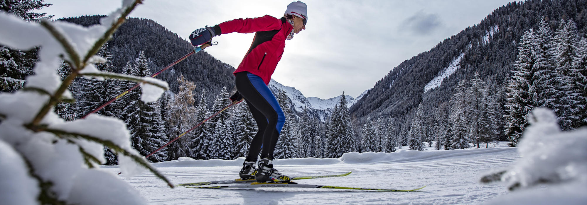 Langlauf Obertilliach | © TVB Osttirol / Berg im Bild OG