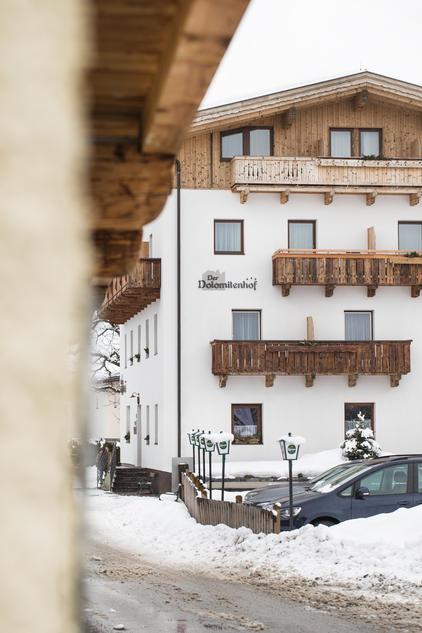 Der Dolomitenhof Tristach im Winter