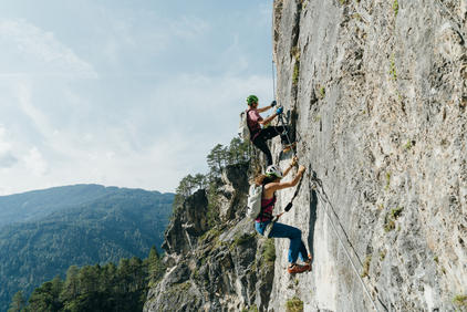 Galitzenklamm Klettersteig Adrenalin | © TVB Osttirol / Sam Strauss Fotografie