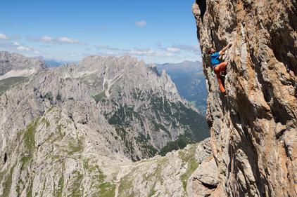 Klettern Laserz | © TVB Osttirol / Michael Meisl
