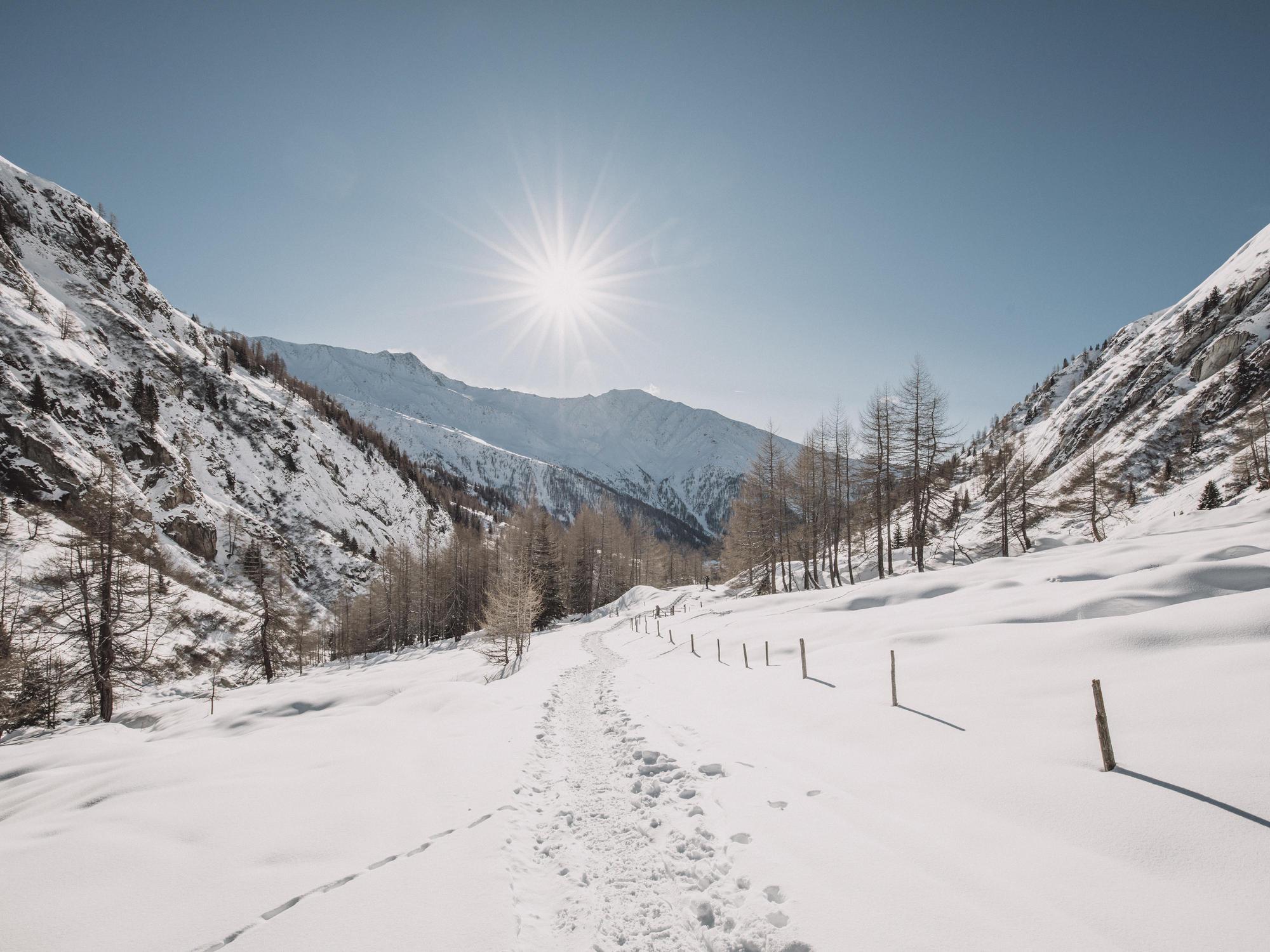 Winterzauber Nationalpark Osttirol | © TVB Osttirol / Maybach Robert