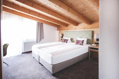 Doppelzimmer im Dolomitenhof Tristach