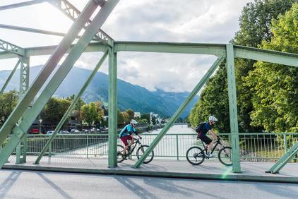 Biken Stadt - Lienz, Isel | © TVB Osttirol / bikeboard - Klachhauser Ronald