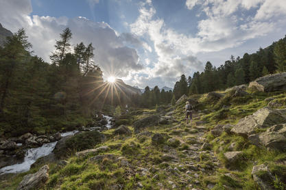 Wandern in der Schobergruppe, Nationalpark Hohe Tauern | © TVB Osttirol / Bardelot Jean Paul - Quest4Visuality