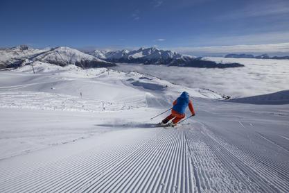 Skifahren im Skizentrum Sillian, Hochpustertal, Thurntaler | © TVB Osttirol / Berg im Bild OG