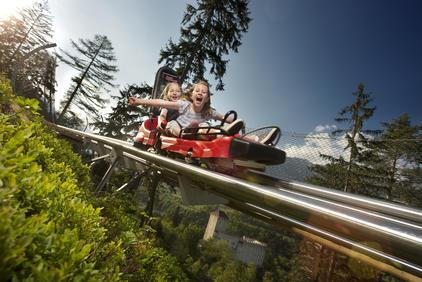 Ostirodler - Hochstein, Lienz, Ganzjahresrodelbahn, Alpine Coaster   © TVB Osttirol / Martin Lugger