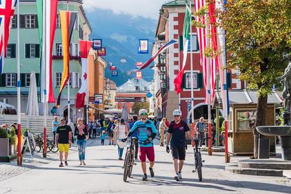 Biken Stadt Lienz | © TVB Osttirol / bikeboard - Klachhauser Ronald