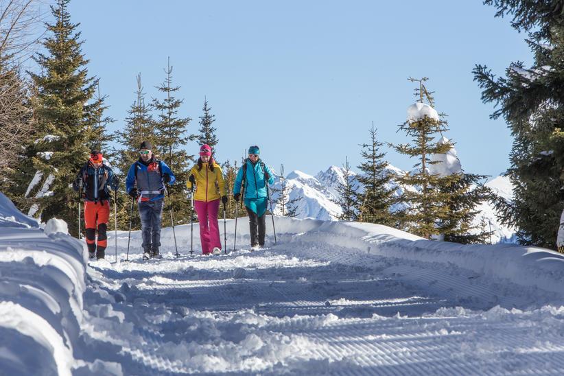 Winterwandern Kartitsch | © TVB Osttirol / Berg im Bild OG